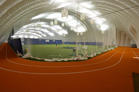 Running Track Dome