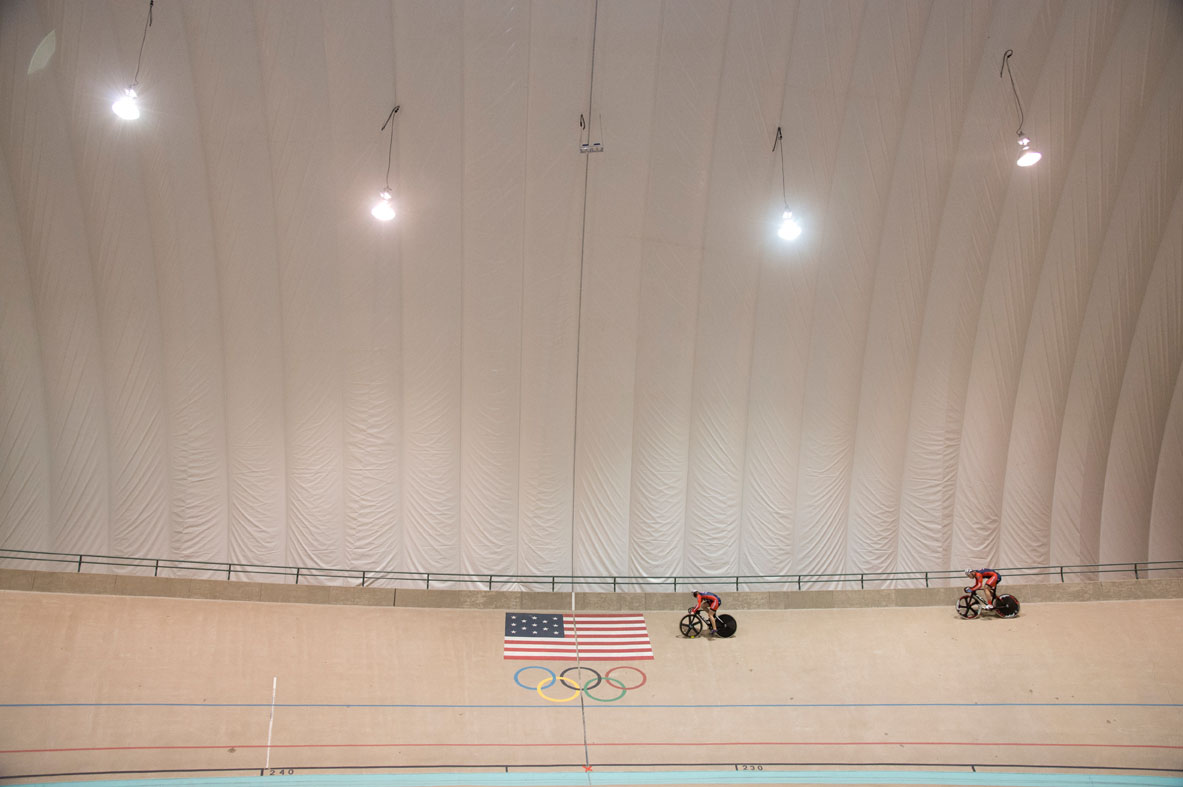 Olympic Track Bubble
