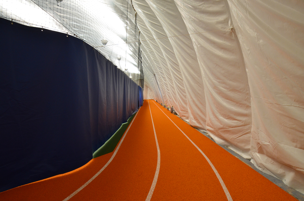 Running Track Bubble