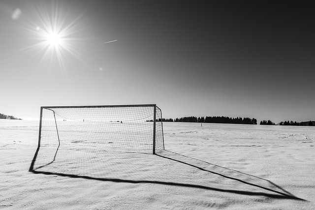 Soccer in Winter