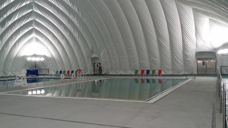 Pool Dome Projects Air-Supported Structures Domes Bubbles ...
