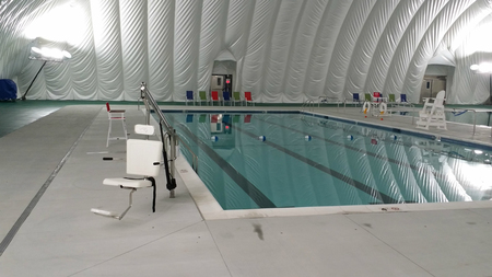 Pool Dome Projects Air-Supported Structures Domes Bubbles Sports ...